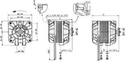 Ventilador Axial Schema