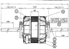Ventilador Axial 6 velocidades Schema