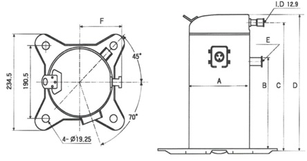 Compressores Scroll Copeland Schema
